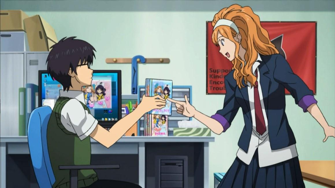 Personagens Otaku nos animes